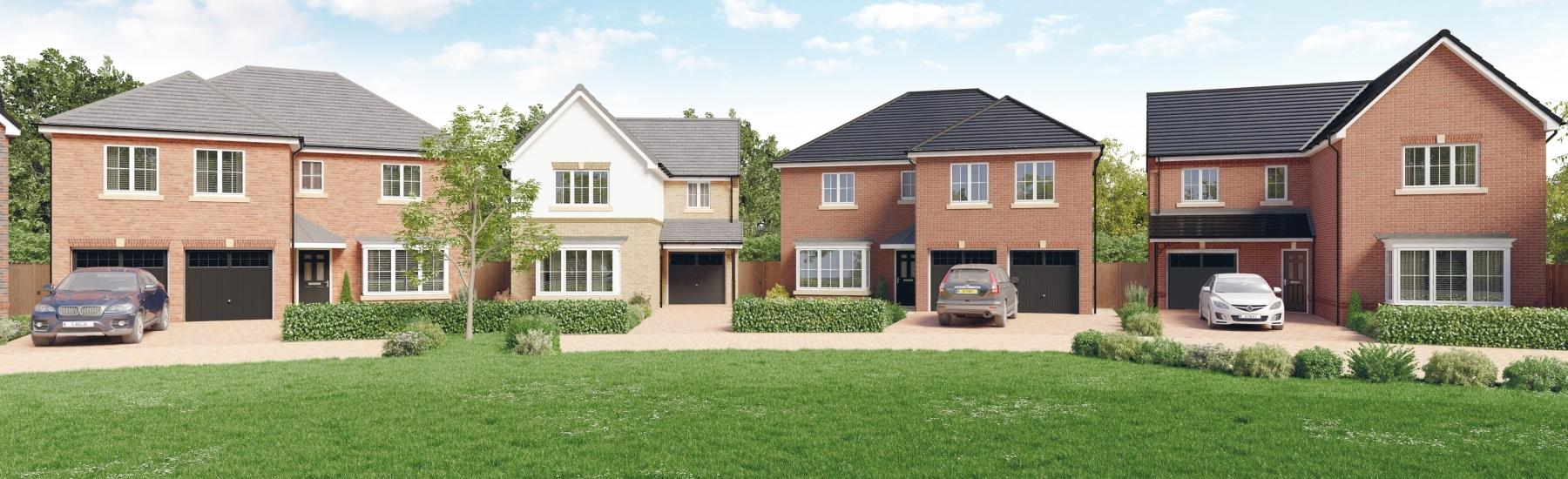 New build homes Newcastle upon Tyne UK 2 5 Bedroom