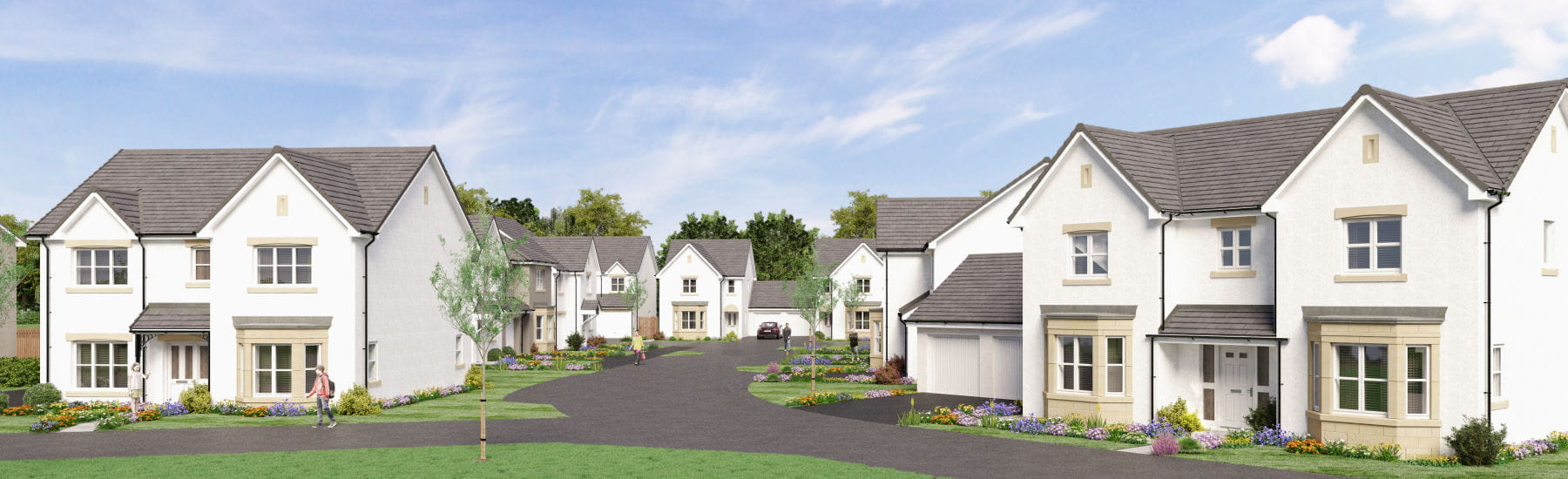 New build homes Fife, UK | 1 - 5 Bedroom Homes for sale in