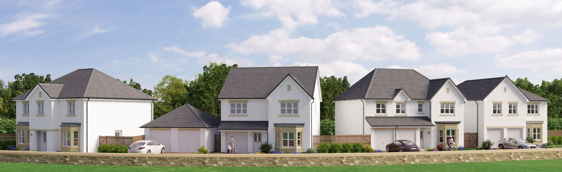 New Build Homes Glasgow 2 5 Bedroom Homes For Sale In