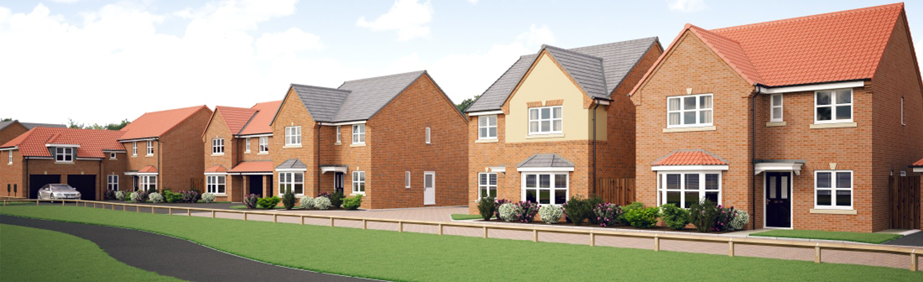 New build homes Boroughbridge | 2 - 5 Bedroom Homes for sale