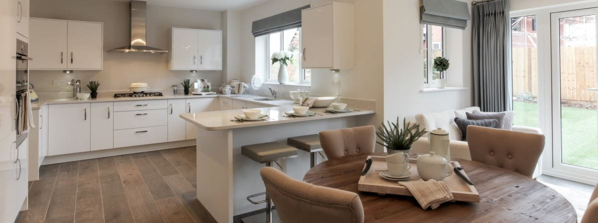 New homes at Langley Country Park