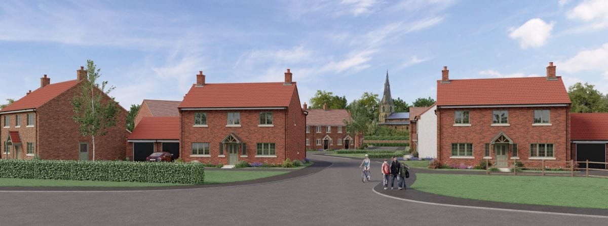 New homes at Regency Gardens