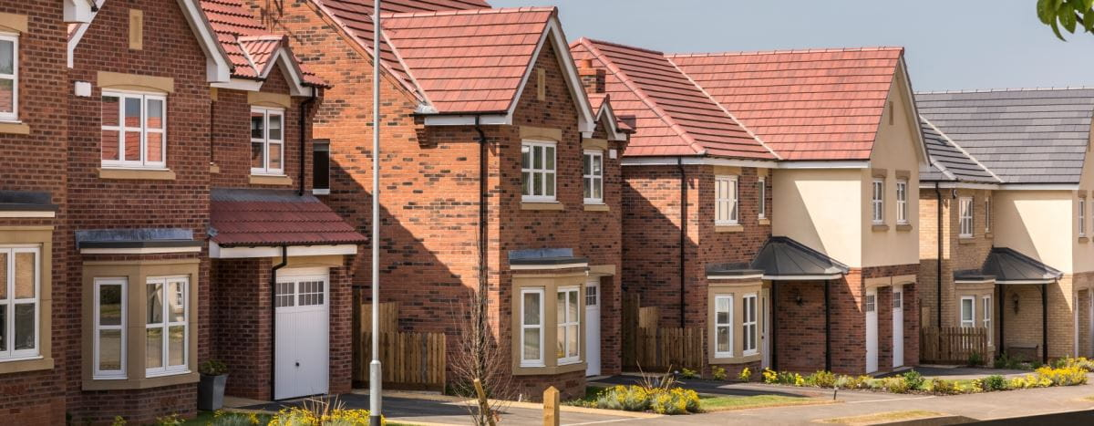 New homes at Stretton Glen