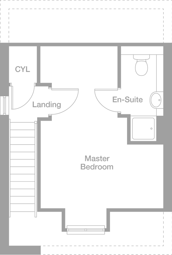 The Gissing 6449 - second floor